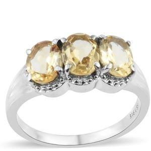 Brazilian Citrine Ring
